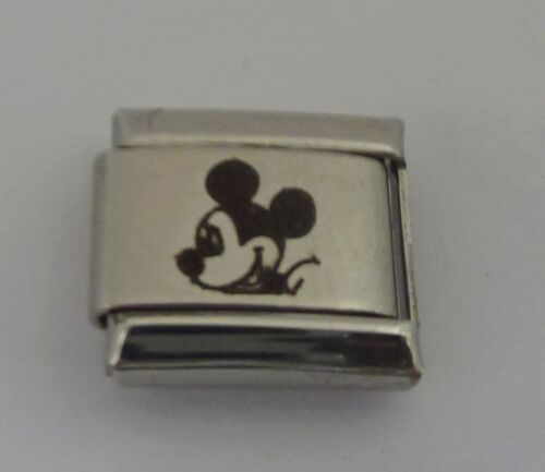 Mickey Mouse 9mm Italian Charms fits Classic Starter Bracelets Dasiy Duck