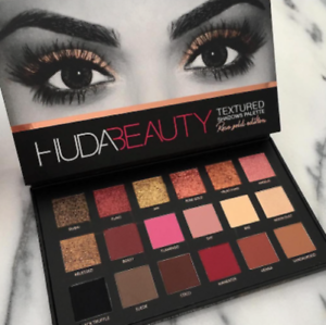 HUDA-BEAUTY-Rosegold-Edition-Strukturierte-Lidschatten-Palette-18-Farben-Neu