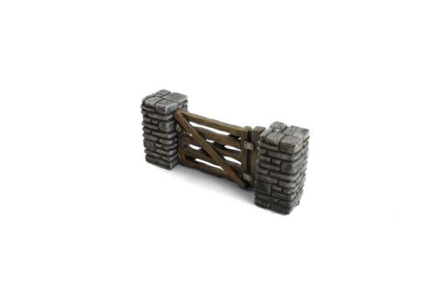 K6 Stone Wall 10x for wargames scenery WW2 28mm and wargame buildings 40k