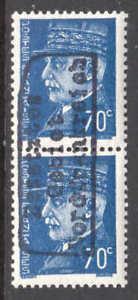 FRANCE-433-PAIR-GERMANY-OCCUPATION-DUNKIRK-NORDFRANKREICH-LOCAL-OVPT-OG-NH-VF