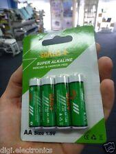 48x Alkaline AA Batteries LR6 1.5V High Capacity Long Lasting Powerful Battery