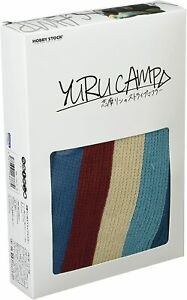 Hobby-Stock-Yuru-Camp-Rin-Shima-Striped-Scarf-Costume-Cosplay-Laid-Back-Official