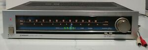 Vintage-Pioneer-tx-520-AM-FM-Tuner-getestet-guter-Zustand-funktionsfaehig-Zifferblatt-Lichter