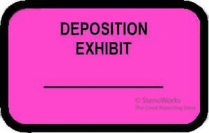 PLAINTIFF/'S EXHIBIT Labels Stickers White  492 per pack Free Shipping