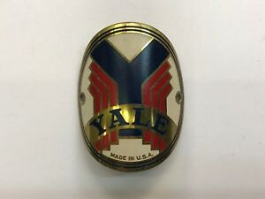 Yale-Headbadge-Made-In-U-S-A-40s-50s-Balloon-Tire-Vintage