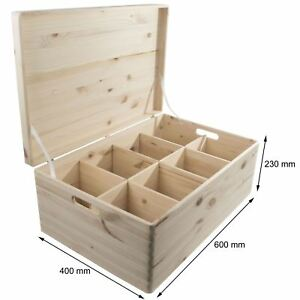 Extra-Large-Wooden-Lidded-Storage-Chest-Trunk-Box-With-8-Removable-Compartments