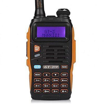Baofeng Pofung GT-3TP Mark-III Tri-Power 2 Way Ham Radio Walkie Talkie Dual Band