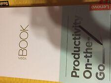 LENOVO YOGA BOOK TABLET 64GB BRAND NEW FACTORY SEALED WINDOWS BLACK retail$600