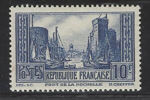 n-261-Port-de-la-rochelle-10Fr-bleu-Type-IV-Neuf-1930