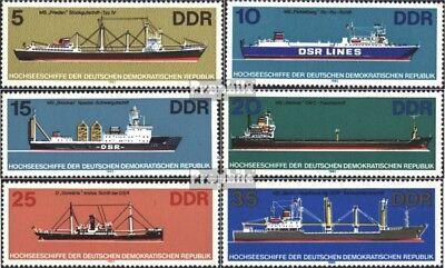 VertrauenswüRdig Ddr 2709-2714 (kompl.ausgabe) Postfrisch 1982 Hochseeschiffe