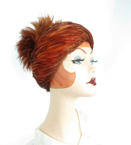 Vintage 1940's Feather Hat