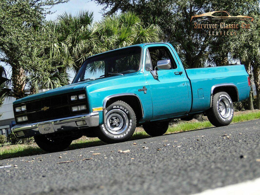 1981 Chevrolet Silverado 1500 C/K10