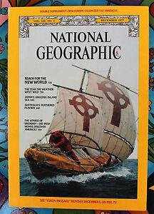 National-Geographic-December-1977-amp-Map-New-World-Australia-Irish-Monks-Japan