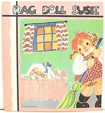 Rag Doll Susie, Her Adventures on Laughing Island 1939 Rare Softcover w/ DJ