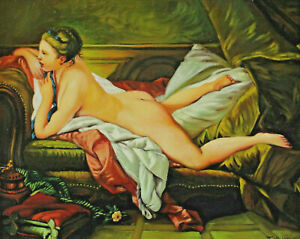 Signed-T-Hauser-LYING-NUDE