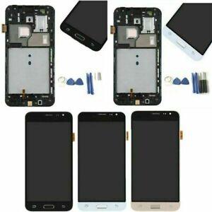 Para Samsung Galaxy J3 2016 J320FN J320F+ Marco LCD Pantalla Tactil Touch Screen