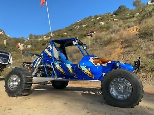 Drakart Sand Rail Dune Buggy - 1 Seat - Hyabusa - 6 Speed Sequential w/Reverse