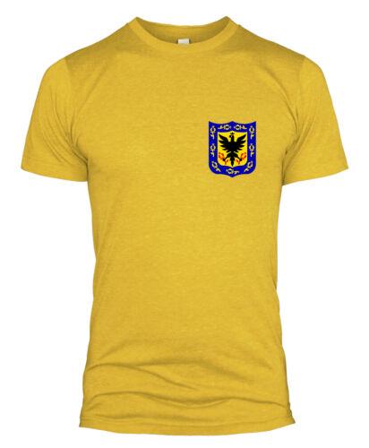 Colombia Retro Football T Shirt Kit World Cup Style 2018 Men Women Kids Top L254