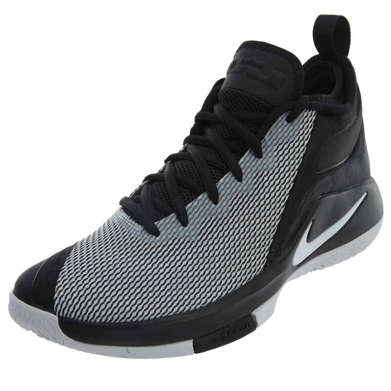 nike lebron taille témoin ii basket taille lebron 10 hommes en noir et blanc 942518 011 nouvelles chaussures ebf47a