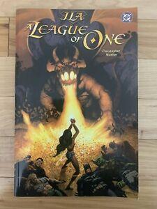 JLA-A-League-of-One-DC-Comics-TPB-Wonder-Woman-Graphic-Novel-Free-Shipping