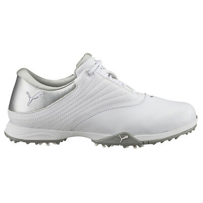 NEW Womens PUMA Blaze Waterproof Golf Shoes White Silver Choose Your Size | eBay