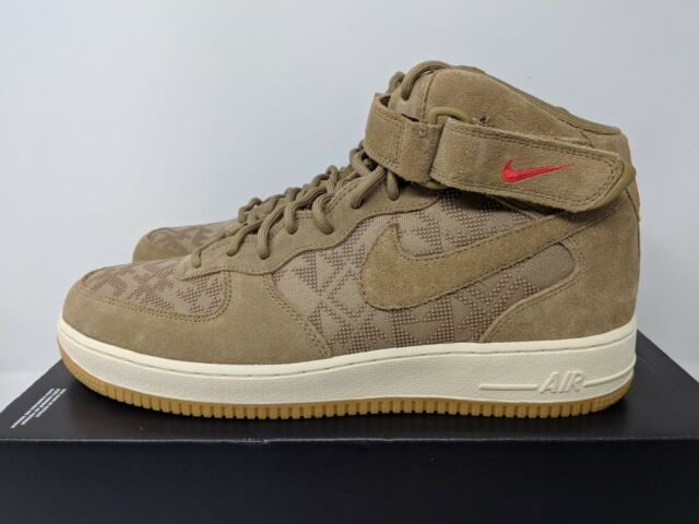 best service 3e4c3 29778 Nike Air Force 1 MID PRM N7 (AT6167 200) Shoe Canteen Red Men SZ