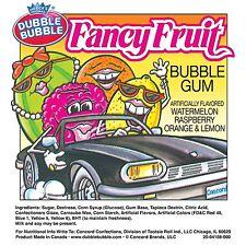 850 Fancy Fruit Dubble Bubble Gumballs Shaped Candy Gum Ball 24mm Vending Double