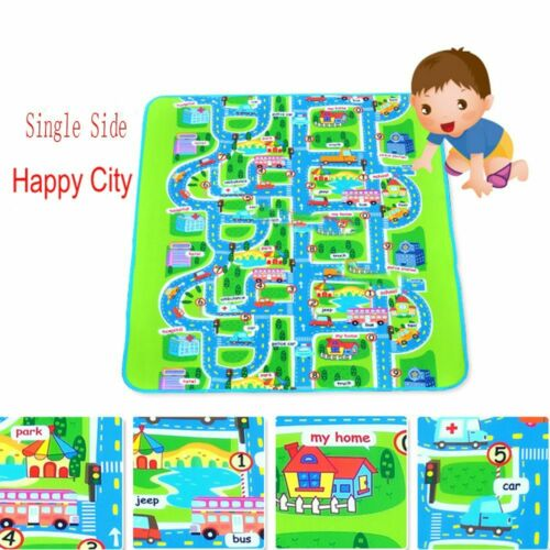 New Toys Portable Puzzle City Carpet Children Rug Waterproof Play Mat