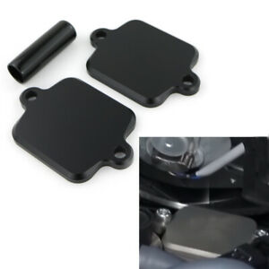 CNC-Machined-Smog-Block-Off-Plate-Kit-For-Kawasaki-ZX-14R-Concours-14-2004-2018