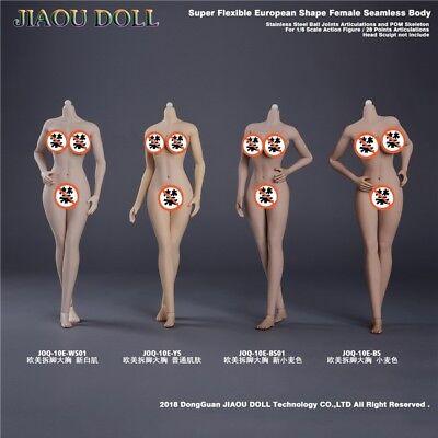 1//6 Suntan Female Body Mid Bust Dismantle Foot JIAOU DOLL JOQ-10C-BS Figure Doll