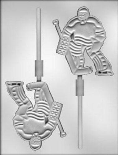NEW Hockey Goalie Lollipop Chocolate Candy Mold CK #6236