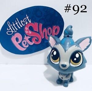 Authentic-Littlest-Pet-Shop-Hasbro-LPS-BARKLEY-WOOFLEY-TERRIER-DOG-92