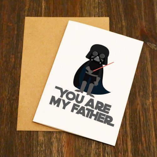 Star Wars You Are My Father Free Post Funny Father's Day Card
