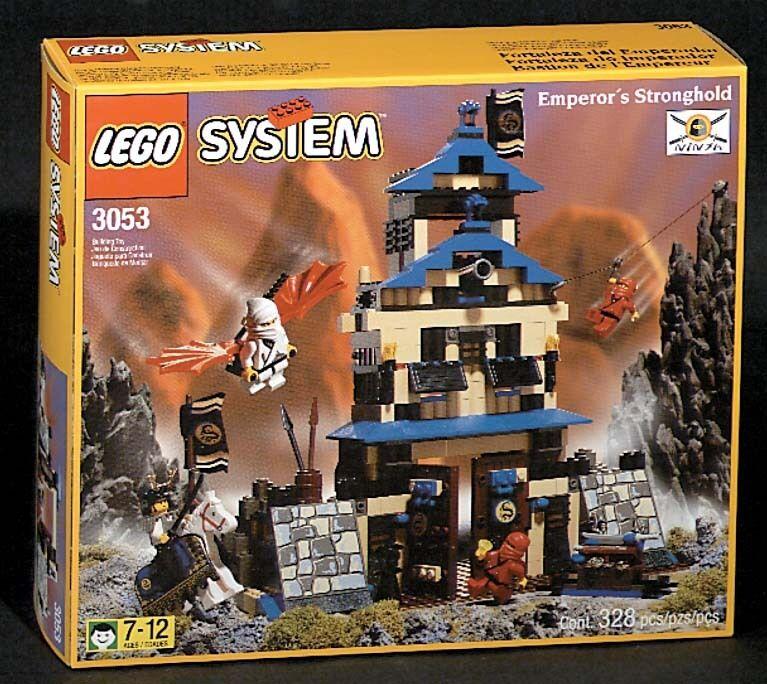 Lego Castello Ninja 3053 Dell'Imperatore Stronghold Nuovo Imballato