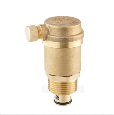"3//4/"" Brass Automatic Solar Power Heating Vent Valve High Temperature Resistance"