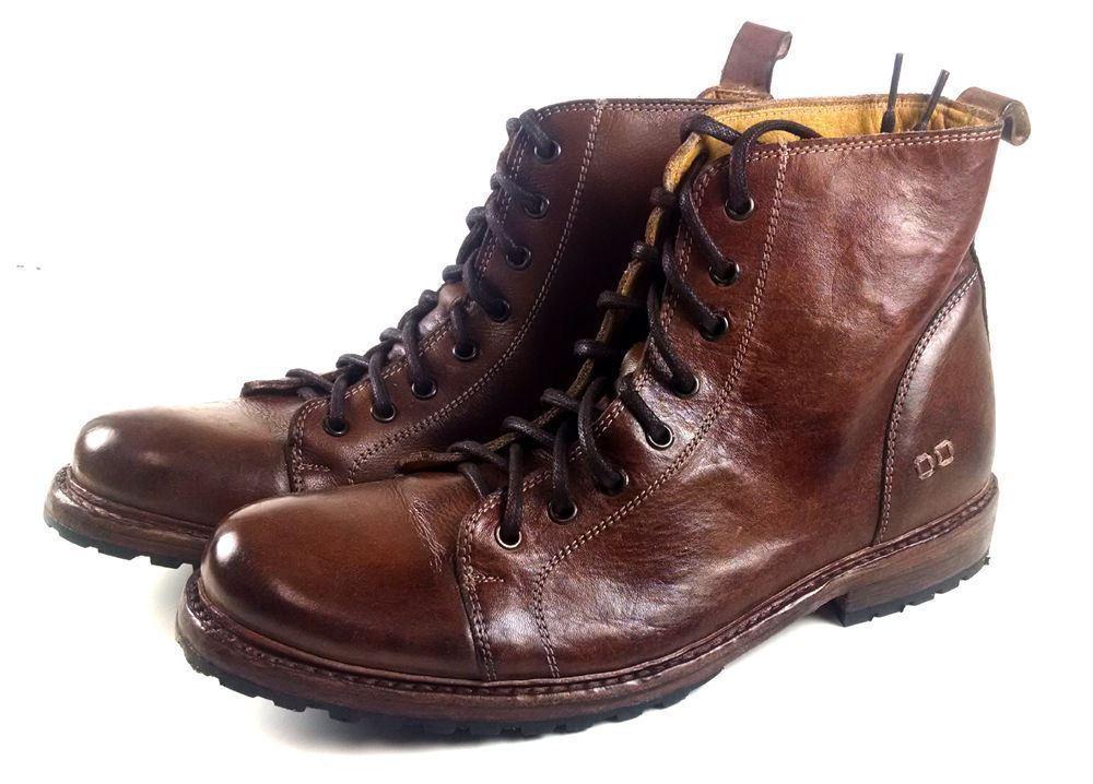Bed Stu Men's Bowen Tan Rustic Marroneee Lace Up stivali scarpe F460025
