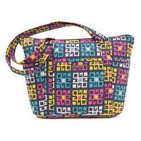 Bella Taylor Zealand Shopper W11xh9.75xd4 Geometric Blocks Multicolored