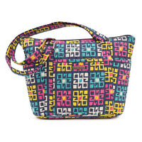 Bella Taylor Zealand Shopper W11xh9.75xd4 Geometric Blocks Multicolored