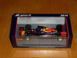 1-43-Spark-S5019-Red-Bull-Racing-RB12-Spain-GP-2016-Winner-Max-Verstappen