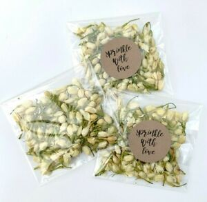 Ivory-Jasmine-Buds-Petals-Natural-Biodegradable-Wedding-Confetti-Dried-PACKETS