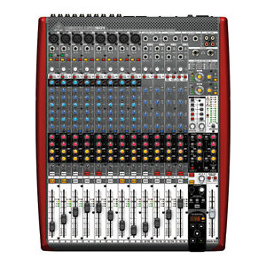 behringer xenyx ufx1604 16 channel usb firewire analog mixer full warranty ebay. Black Bedroom Furniture Sets. Home Design Ideas