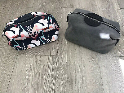 BRITISH AIRWAYS FIRST CLASS MENS LIBERTY OF LONDON TRAVEL TOILETRY SET /& ZIP BAG