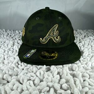 Camo New Era Houston Astros 2019 MLB Armed Forces Day On-Field 59FIFTY Fitted Hat
