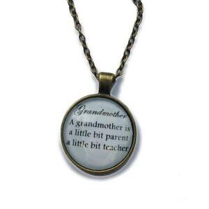 Grandmother Necklace Ebay
