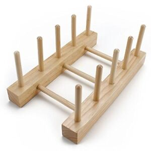 Professor-Poplar-039-s-Wooden-Puzzle-Board-Display-Stand-Holds-4-Puzzles