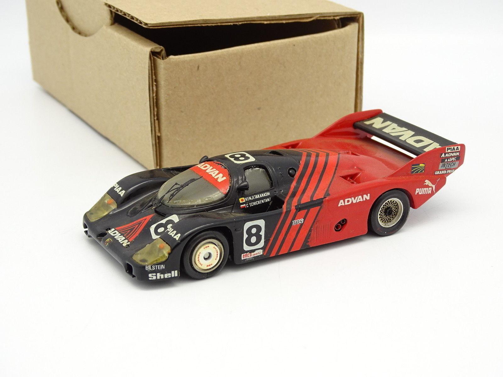 Starter Kit Monté SB 1 43 - Porsche 956 Advan Fuji 1983 N°8