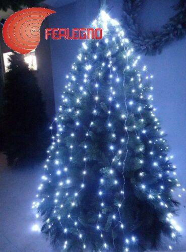 SHEATH WATERFALL DECORATIONS 400LED LIGHTS CHRISTMAS WARM WHITE H250CM TREE
