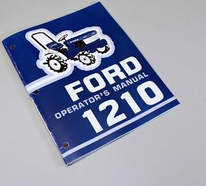 ford  tractor owners operators manual maintenance