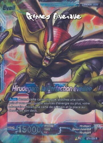 Dragon Ball Super Card Game Hirudegarn la Perfection Eveillée BT4-024 VF//R