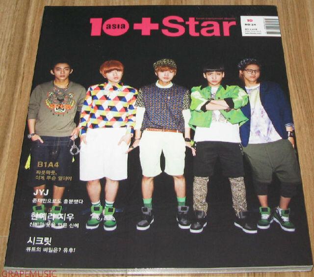 10+STAR 10ASIA B1A4 JYJ 2PM SCRET KOREA STAR MAGAZINE 2013 JUNE NEW